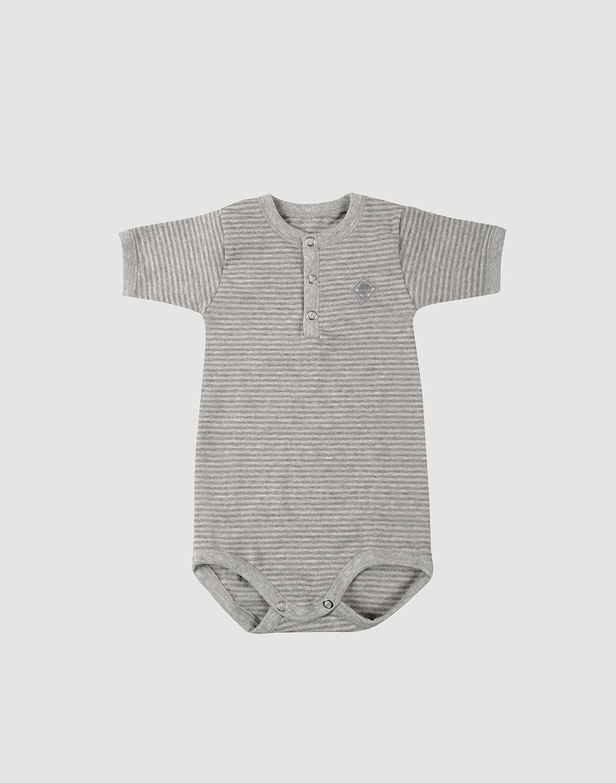 Baby Verantwortlich ***** Body Grau Gestreift Größe 92 ***** Kleidung, Schuhe & Accessoires