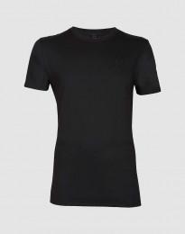 Bomulds t-shirt til mænd sort
