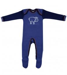 Heldragt Baby mørk blå