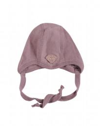Baby hue - økologisk merino uld mørk rosa