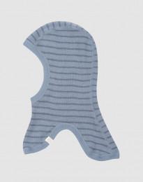 Elefanthue i merino uld til baby Blåstribet