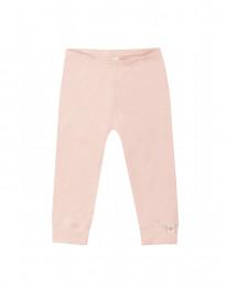 Baby leggings i økologisk bomuld rosa