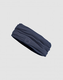Halsedisse til børn - Eksklusiv økologisk merino uld Blågrå