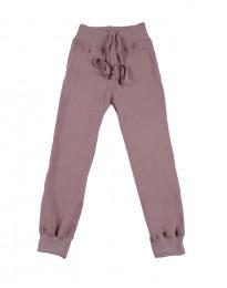 Uldfrotté bukser mørk rosa