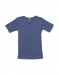 Børne t-shirt af uld-silke
