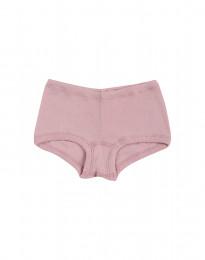 Pige hipster - økologisk merino uld lys rosa