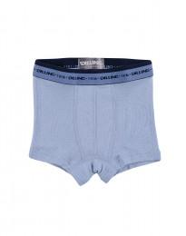 Drenge tights - økologisk merino uld blå
