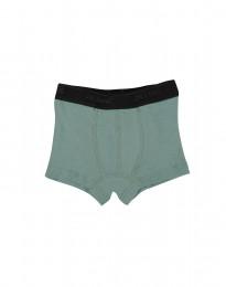 Drenge tights - økologisk merino uld lys grøn