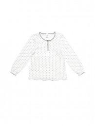 Pige homewear trøje prikket