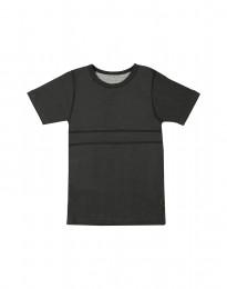 Børne T-shirt i økologisk bomuld mørk grøn