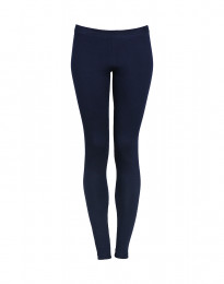 Leggings dame bomuld navy