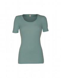 Merino t-shirt til damer lys grøn
