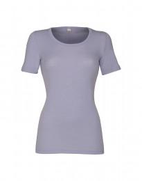 Merino t-shirt til damer lys lilla