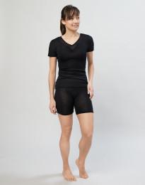 Mamelukker til kvinder i uld/silke sort