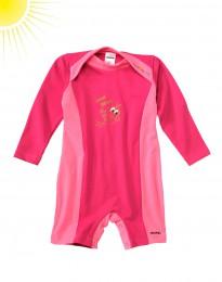 UV-beskyttelses body til baby pink