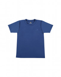 Børne t-shirt med UV-beskyttelse UPF 50+ blå
