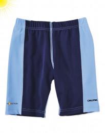UV-beskyttelses shorts til drenge blå