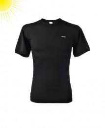 UV-beskyttelses T-shirt til herrer sort