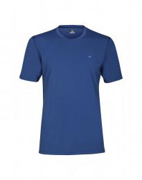 Herre t-shirt med UV-beskyttelse UPF 50+ blå