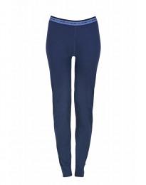 Leggings til kvinder - eksklusiv merino uld mørk blå