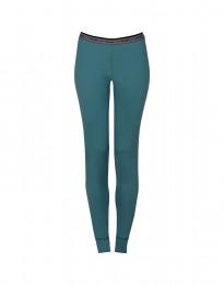 Leggings dame - eksklusiv merino uld hydrogrøn