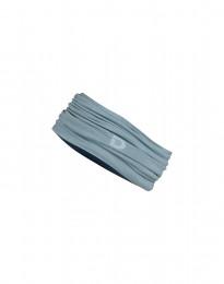 Halsedisse i eksklusiv merino uld mineral blå