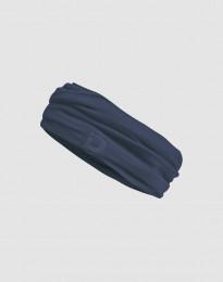 Halsedisse til kvinder i eksklusiv merino uld mørk blå