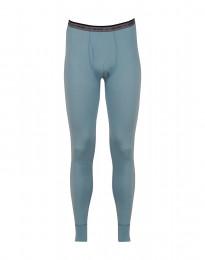 Lange underbukser mænd - eksklusiv merino uld mineral blå