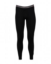 Lange underbukser mænd - eksklusiv merino uld sort