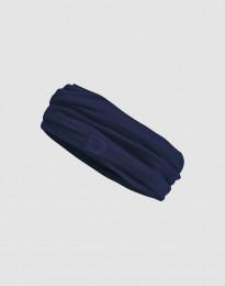 Halsedisse til mænd i eksklusiv merino uld mørk blå
