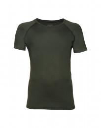 Merino t-shirt herre grøn