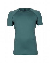 Merino t-shirt herre - eksklusiv merino uld turkis grøn