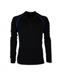 Skiundertrøje løbeundertrøje til mænd - eksklusiv merinould sort
