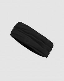 Halsedisse til mænd i økologisk eksklusiv merino uld sort