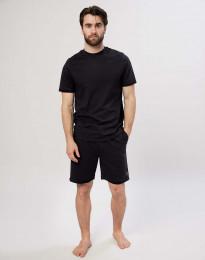 Shorts til herre i bomuld sort