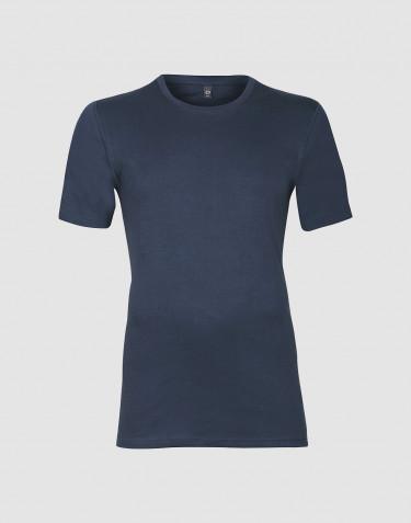 Premium Classic - Bomulds t-shirt til mænd mørk blå