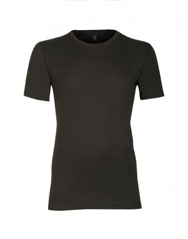 Premium classic - Bomulds t-shirt til mænd mørk grøn