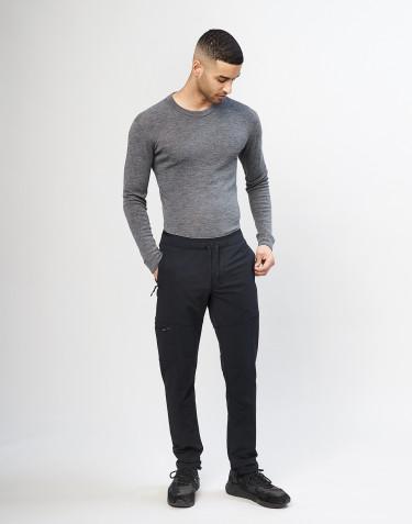 Softshellbukser til mænd, Sort