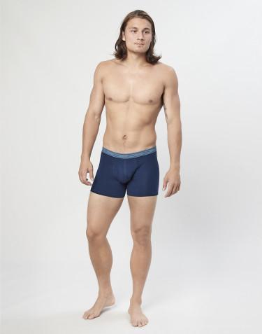 3-Pak tights i bomuld med gylp blå