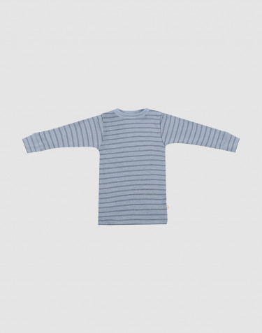 Merino trøje til baby Blåstribet