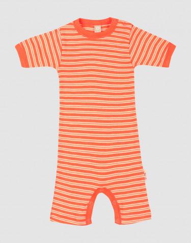 Merinould/silke sommerdragt til baby