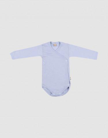 Merinould/silke slå-om body til baby