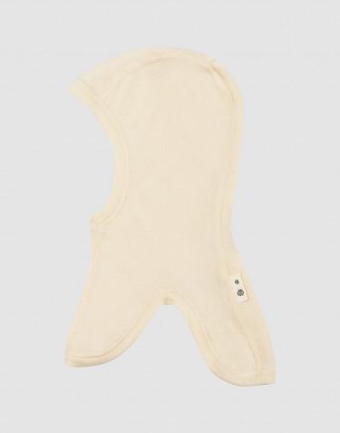 Elefanthue i merinould/silke til baby