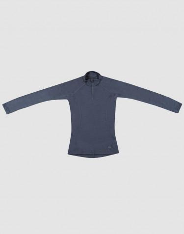 Trøje til børn - Eksklusiv økologisk merino uld Blågrå