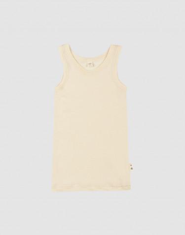 Merinould/silke undertrøje til børn