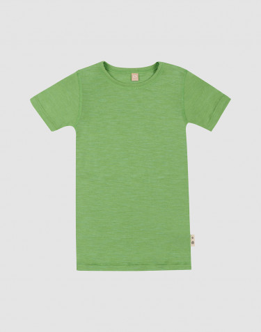 Merinould/silke T-shirt til børn