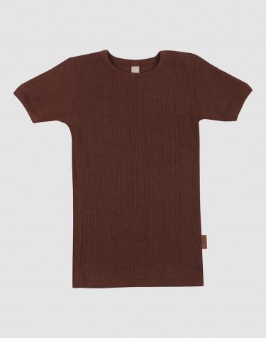 Merinould T-shirt til børn
