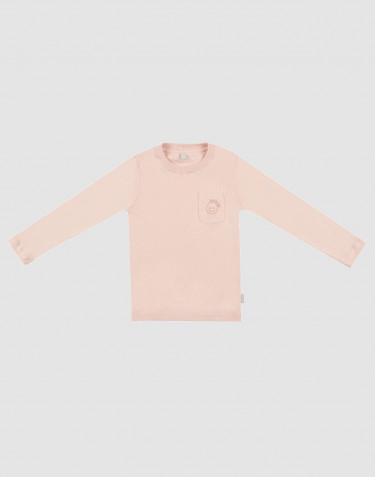 Nattrøje m/langt ærme til børn rosa