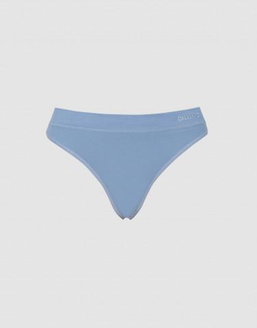 Dilling g-streng til kvinder bomuld blå
