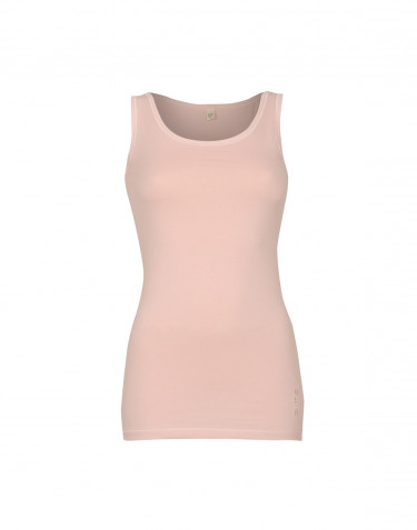 Tank top dame bomuld rosa